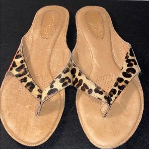 Very Volatile animal print sandals flats shoes